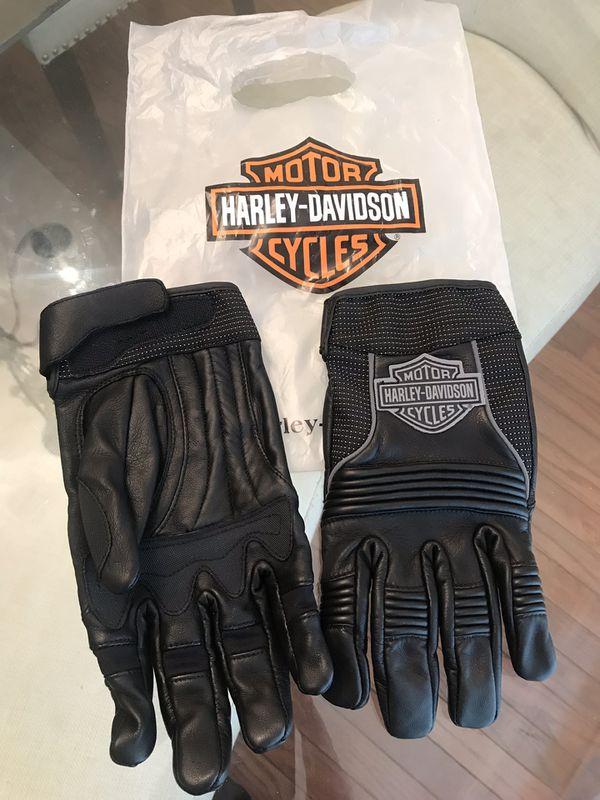 Brand New Harley Davidson Leather Gloves - Men's Large