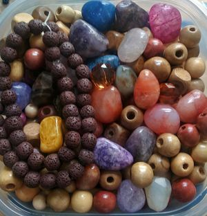 Bead Lot for Jewelry Making for Sale in Baltimore, MD