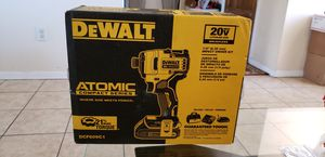 $110 FIRM!!! NO LESS !!! BRAND NEW DEWALT ATOMIC COMPACT SERIES BRUSHLESS IMPACT DRILL 20V for Sale in Houston, TX