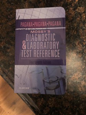 Mosby's diagnostic & laboratory test reference for Sale in Fairmont, WV