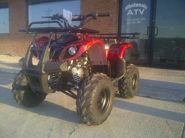 New Gas ATV Fully Automatic 125cc with Reverse