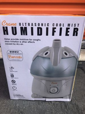 Crane Adorable Elephant Ultrasonic Cool Mist Humidifier, 1gal for Sale in Westminster, CA