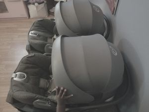 Cebex car seats 100 each. Twin pack and play by baby trend 100. Also have weego double infant carrier black in color for Sale in Crowley, LA