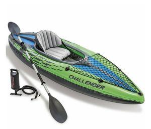 Intex Challenger K1 Inflatable Kayak for Sale in Hayward, CA