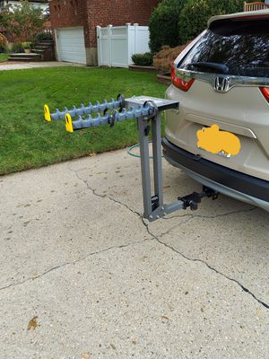 Hitch mount heavy duty bike carrier rack for Sale in Wantagh, NY
