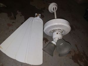 5 blades 3 lights 3 fans total $25 each or $60 all for Sale in Plattsburg, MO