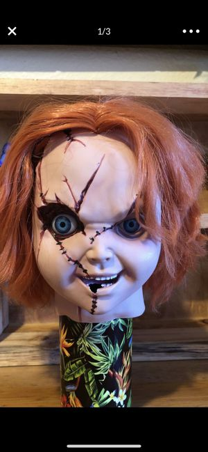 Chucky head for doll realistic head for Sale in Gardena, CA
