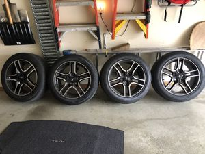 18x8 MUSTANG OEM WHEELS & TIRES for Sale in Mount Airy, MD