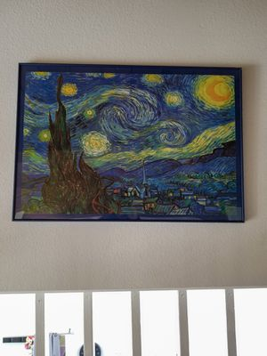 Starry Night Vincent Van Gogh painting for Sale in West Los Angeles, CA
