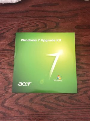 Window 7 Professional Upgrade or Clean install disc for Sale in Montverde, FL