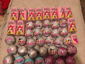 Lol surprise dolls, hair goals, bling series,lol boys, sparkle series for Sale in Houston, TX