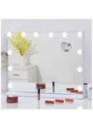☀️ Large Vanity Mirror with LED Lights, Touch Screen & USB Charging Port for Sale in Orlando, FL