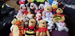 Collection of Disney Store Beanie babies for Sale in Overland, MO