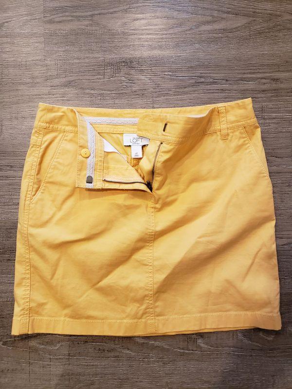 ANN TAYLOR LOFT size 4P skirt