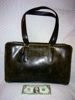 Vintage Coach briefcase-style hand/shoulder bag- No.934-6319 for Sale in Tumwater, WA