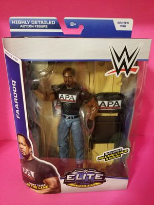 WWE Elite wrestling figures APA Farooq for Sale in Highland, CA