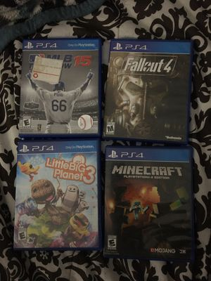 Ps4 games for Sale in Los Angeles, CA