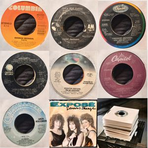 45 RPM (Vinyl Records) SET 4 SALE for Sale in Corona, CA