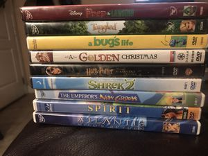 DISNEY AND OTHER CHILDRENS MOVIES BUNDLE (9) for Sale in Las Vegas, NV