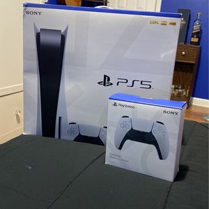 Sony PS5 Disc Edition Brand New Extra Controller for Sale in Brooklyn, NY