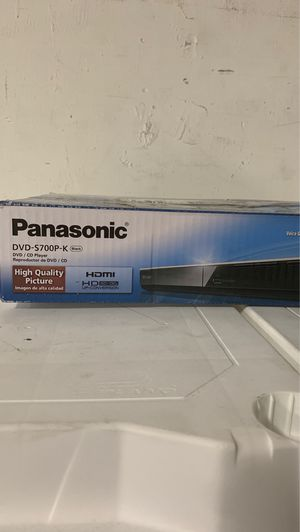 Lightly Used Panasonic HDMI Dvd/CD Player for Sale in Las Vegas, NV