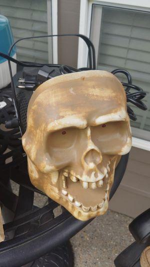 Fog machine skull works perfect Halloween for Sale in Beaverton, OR