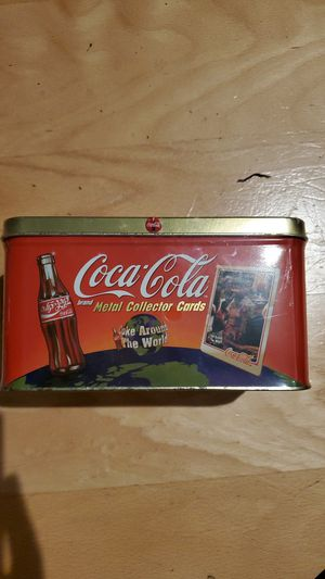 Coca cola metal collector cards for Sale in Hillsboro, OR