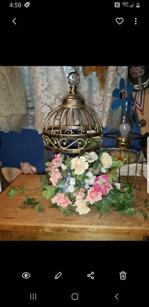 Decrotive Bird cage for Sale in Washington, PA