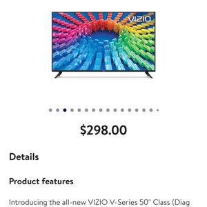 """VIZIO V-Series ™ 50"""" Class 4K HDR Smart TV for Sale in Richmond, VA"""