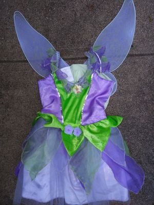 Tinkerbell costume 4-6 yrs $25 for Sale in Mesquite, TX