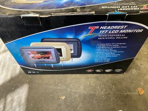 "7"" head rest monitor- beige for Sale in Santa Clarita, CA"