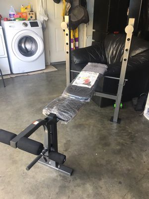 Low Price!! Great Deal!! Brand New Golds Gym xr 6.1 Exercise Workout Weight Strength Bench Press Fitness Equipment Retail Price: $109+ for Sale in Huntington Park, CA
