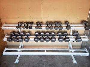 1100+ Pound Dumbbell Set for Sale in Shawnee, KS