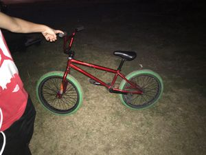 BMX Diamondback bike chrome red with green tires used for Sale in Columbus, OH