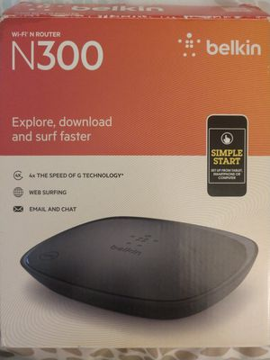 Belkin N300 Router for Sale in Boulder, CO