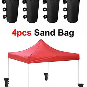 (NEW) $15 (Pack of 4) Canopy Weight Bags for EZ Pop Up Tents (Bag only, Sand and Tent not included) for Sale in El Monte, CA