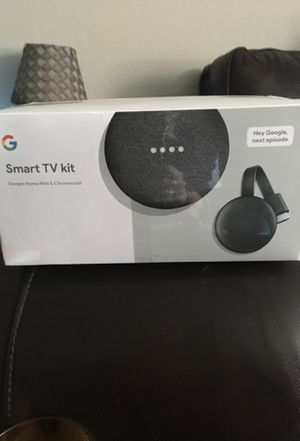 Google Home Mini & Chromecast - Never been opened for Sale in Dallas, TX