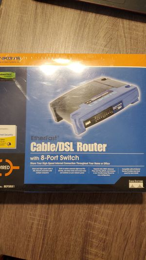 Linksys router - brand new for Sale in San Diego, CA