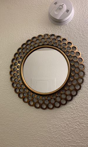 circular mirror for Sale in Rancho Cucamonga, CA