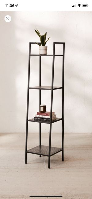Urban outfitters Maki Narrow Shelving Unit, storage shelf, book shelf for Sale in Boston, MA