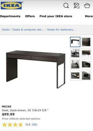 IKEA Micke Desk $75 for Sale in Phoenix, AZ