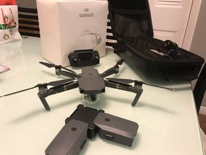 DJI Mavic Pro & DJI Goggles - Moded/unrestricted for Sale in Hialeah, FL