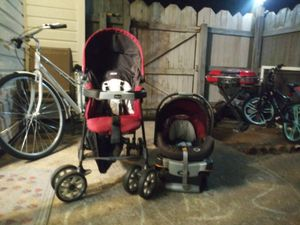 Chic co Stroller and Carseat with base for Sale in Chesapeake, VA