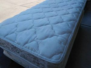 FREE DELIVERY! Good Condition XTRA LONG twin bed. Steam Cleaned & Sanitized. for Sale in Beaverton, OR