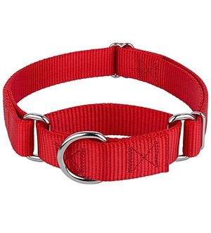 Red martingale collar (small - 3/4 inch) for Sale in Los Angeles, CA