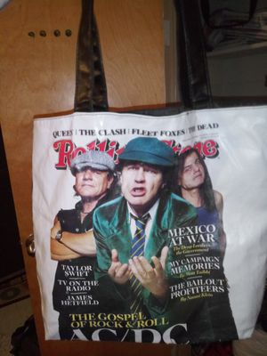 Rolling stone tote bag for Sale in Flintstone, GA