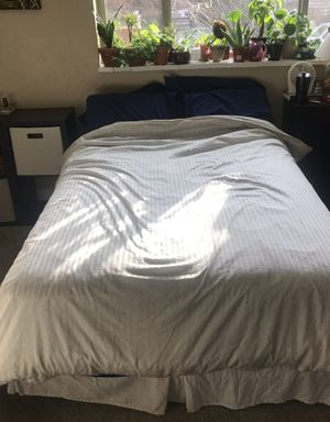 Barely used mattress and box springs for Sale in Denver, CO