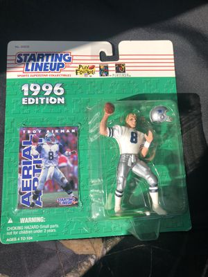 Troy Aikman 1996 action figure for Sale in Dallas, TX