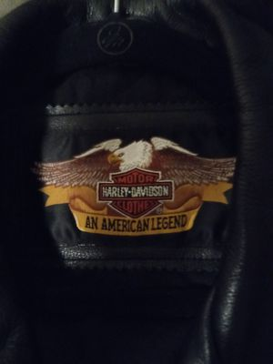 Large, heavy Harley Davidson touring Leather jacket for Sale! for Sale in Clinton, MI