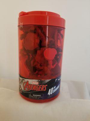 Marvel avengers 40 piece tube for Sale in Phoenix, AZ